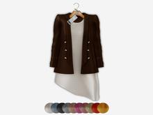 Bens Boutieque - Blazer&Dress Set Brown