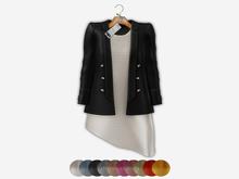 Bens Boutieque - Blazer&Dress Set Dgray