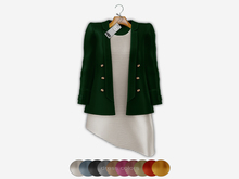 Bens Boutieque - Blazer&Dress Set Green