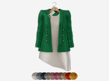 Bens Boutieque - Blazer&Dress Set Mint