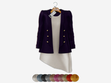 Bens Boutique - Blazer&Dress Set Purple