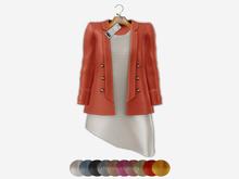 Bens Boutieque - Blazer&Dress Set Salmon
