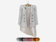 Bens Boutique - Blazer&Dress Set White