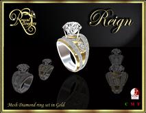 RJ Mesh Reign Ring (Gold)
