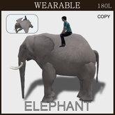 [TomatoPark] Wearable Elephant(riding pose)