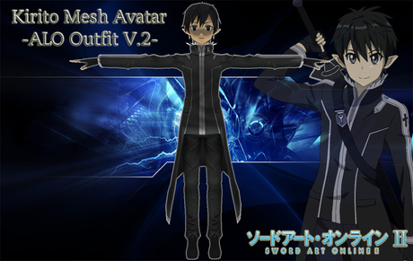 Sword Art Online: Kirito ALO v.2 -Mesh Avatar-