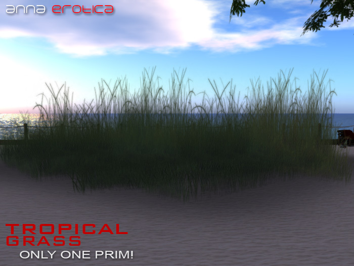 Anna Erotica - Tropical Grass - 1 Prim!