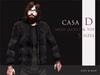 Casa D Padded Jacket abstract dark