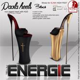 ..::Energie::.. Paola  Heels Black Bag