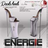 ..::Energie::.. Paola Heels White Bag
