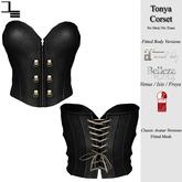 DE Designs - Tonya Corset - Black