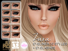 .:JUMO:. Zara Eyeliners - The Mesh Project and Classic Avatar