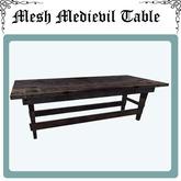 Medievil wooden Table mesh FP (0.5 LI)