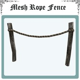 Mesh Rope fence Full Perm