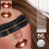 Oceane - Prismatix Lipsticks Duo Gold 7 Lelutka