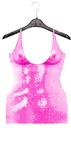 #Addiction-Sequin Dress[Pink]