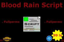 Blood Rain Script (box)