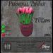 Pink Tulips (Stripes) TipJar