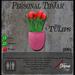 Pink Tulips (Solid) TipJar