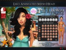 Lilo Mesh Head Animated (no bento) Maitreya, Belleza, TMP, Slink Appliers) NAKA