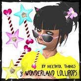 *NT* Wonderland Lollipops