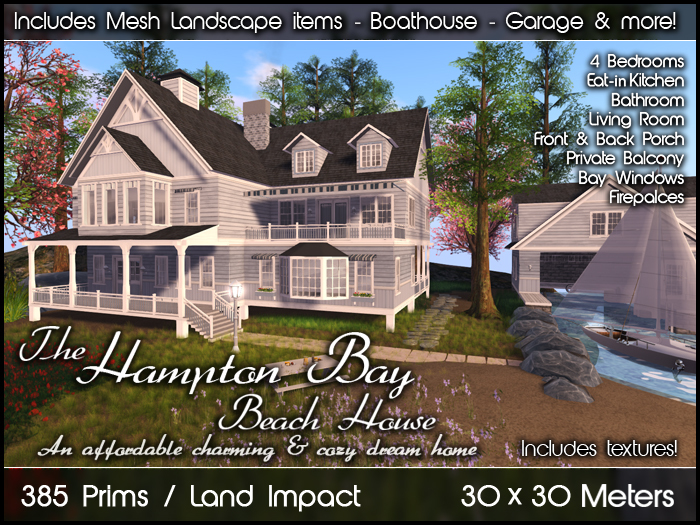 Hampton Bay Beach House (Package)