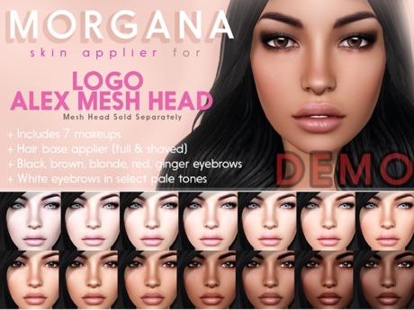 [PF] LOGO ALEX Head Applier - MORGANA - DEMOS -