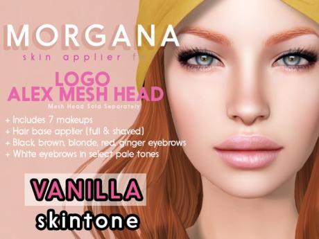 [PF] <Vanilla> - Morgana - LOGO ALEX Head Applier