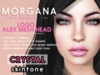[PF] <Crystal> - Morgana - LOGO ALEX Head Applier