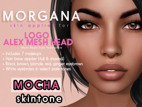 [PF] <Mocha> - Morgana - LOGO ALEX Head Applier