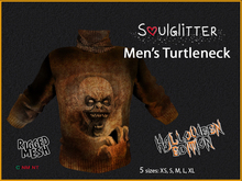 *Soulglitter* Halloween Sweater Male