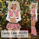 *Soulglitter* Candy Cane Outfit