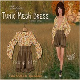 GIFT *Soulglitter*  Autumn Tunic Dress & Boots