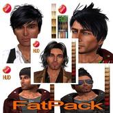 """eDeLsToRe man mesh hair """" Fatpack """" 6.3 BOX"""