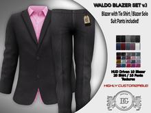 Daniel Grant-Waldo Blazer Set v.1. (2 Blazers&Suit Pants)
