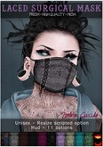 :Z.S: Laced Surgical Mask