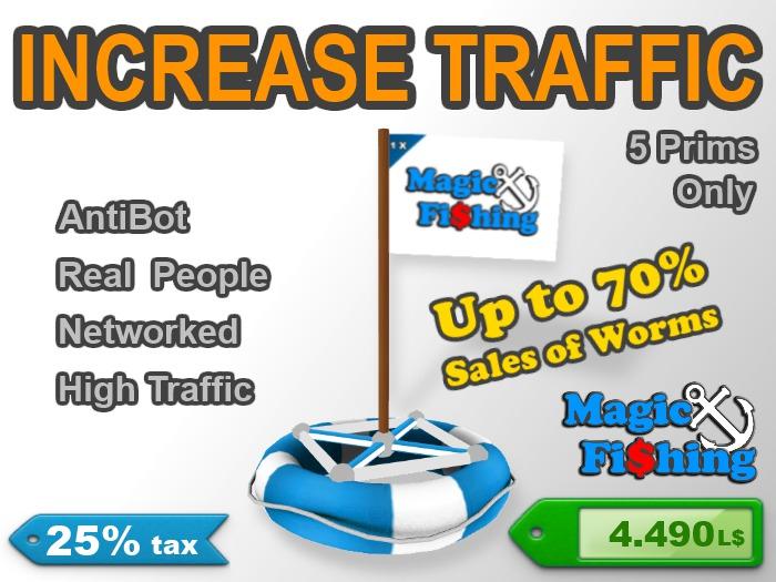 Magic Fishing Buoy - Increase your land traffic | 25% tax