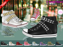::MA:: LEWIS Studded Flat Sneakers Slink, Maitreya, #themeshproject & Regular AV - EXCLUSIVE PROMO PRICE