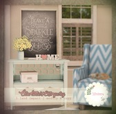 *windsong. { charlotte's entryway : blue }