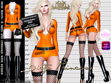 **Dirty Princess** Found Guilty! Princess Suit w/Boots