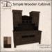 [DDD] Simple Wooden Cabinet
