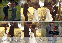 .  Swirl Poses. - Wedding Pack