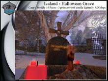 Icaland - Halloween Grave