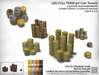 LDG-FULL PERM 917 Coin Towers /3 parts/16 textures/Builderkit