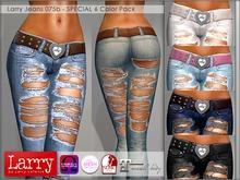 LARRY JEANS - Jeans 075b - 6 Color Pack