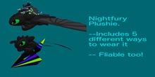 Nightfury Plushie (BOX)