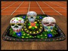 Front skulls table