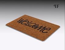Welcome mat 001