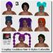 Blackburns Cosplay Goddess Hair
