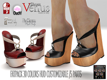 ->VeNuS<>ShOeS<-KIMBERLY FOR SLINK/MAITREYA/BELLEZAv3/TMP OUCH! FATPACK 30 COLORS HUD CUSTOMIZABLE